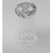 Lustre Plafon De Cristal Legítimo K9 Transparente MA-003