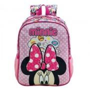 Mochila Escolar Infantil 16 Minnie Magic Bow - Xeryus