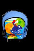 Mochila Escolar Infantil  Blue Chicken - Novo Mundo