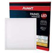 Painel Led modular embutir quadrado 45w 6500k branco frio- MB LED