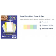 Papel Casca de Ovo A4 50 Folhas - Off Paper