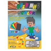 Papel Offpinho Color  A4 45 Folhas - Off Paper