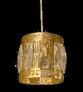 Pendente de Cristal Legítimo K9 Gold - (A038 GD)