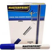 Pincel Para Quadro Branco  Azul MP619 12 unidades - Masterprint