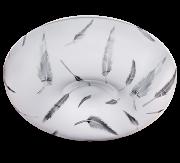 Plafon de plástico Led Branco Frio - (B91)