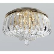 Plafon Clássico De Cristal Legítimo K9 58004/400GD