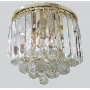 Plafon Clássico De Cristal Legítimo K9 Gold