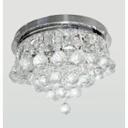 Lustre Plafon de Cristal Legítimo K9 - Lâmpadas de LED Inclusas A6902/400ch