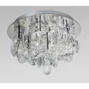 Plafon De Cristal Legítimo K9 Transparente 91317/9 T