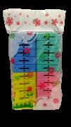 Prendedor de Roupa Plástico 20 unidades P Cores Sortidas  - Dubai