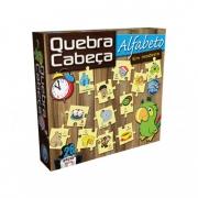 Quebra Cabeça Alfabeto em Madeira 26 Peças- Pais E Filhos