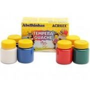 Tempera Guache 15ml 12 unidades -  Acrilex