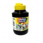 Tinta Guache 250ml Preto - Acrilex