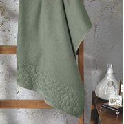 Toalha de Banho  Jacquard Confort 70cmX 140m (FJ-6509 Verde) - Dohler