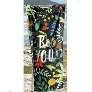 Toalha de Praia Velour - Be You
