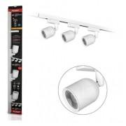 Trilho de LED Elegance Preto ou Branco C/3 Spot 3000K Luz Amarela 7W - Avant