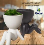 Vaso Decorativo Bonequinho