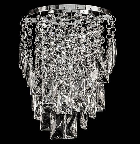 Arandela de Cristal Legítimo K9 Transparente - (5046 T)