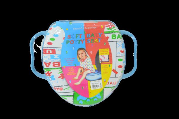 Assento Redutor Vaso Sanitário Infantil Com Alça Acolchoado