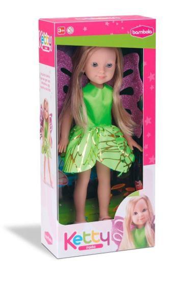 Boneca Ketty Lendas Fada - Bambola