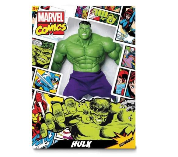 Boneco Hulk Comics Gigante Marvel 45cm - Mimo Toys