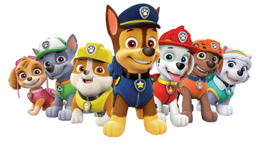 Bonecos Patrulha Canina- Paw Patrol