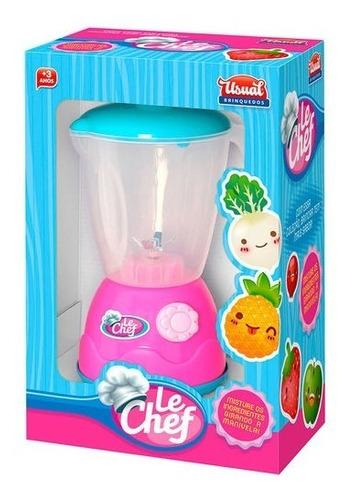 Brinquedo Coleção Cook Liquidificador Usual Plastic Ref 187