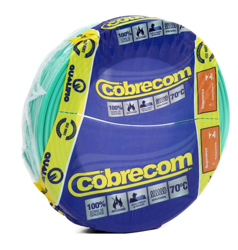 Cabo Flexível  2,5 mm  100 Metros - Cobrecon