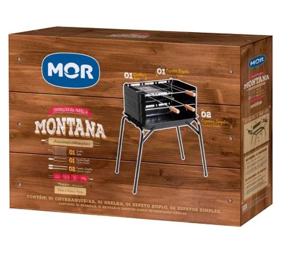 Churrasqueira Montana 4 Peças - Mor