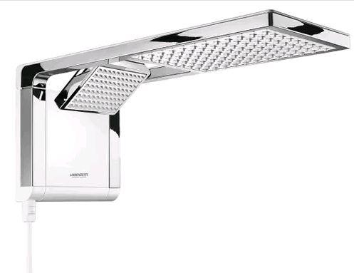 Chuveiro Eletrônico Lorenzetti Ultra Aqua Duo - Branco e Cromado 127v 5500W  SEM ESTOQUE