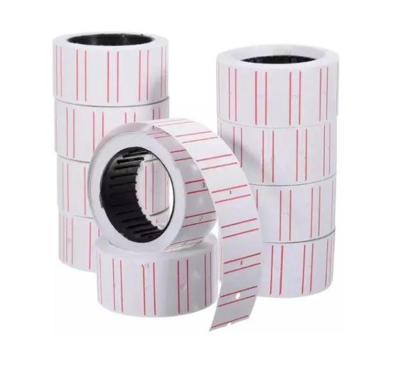Etiqueta de papel para etiquetadora manual de 8 dígitos- Dubai