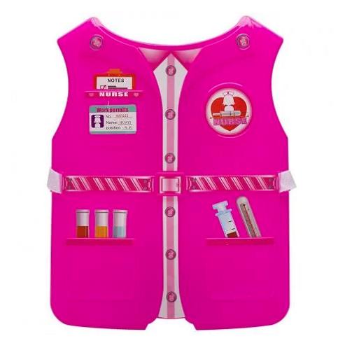 Kit Fantasia Infantil Criança Profissões Enfermeira.