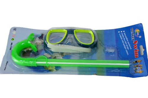 KIT Mergulho Infantil Óculos e Respirador