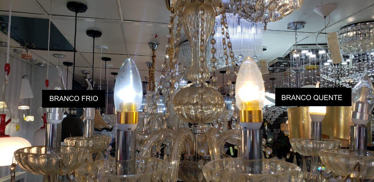 Lâmpada de LED 3W / E14 - Branco Quente