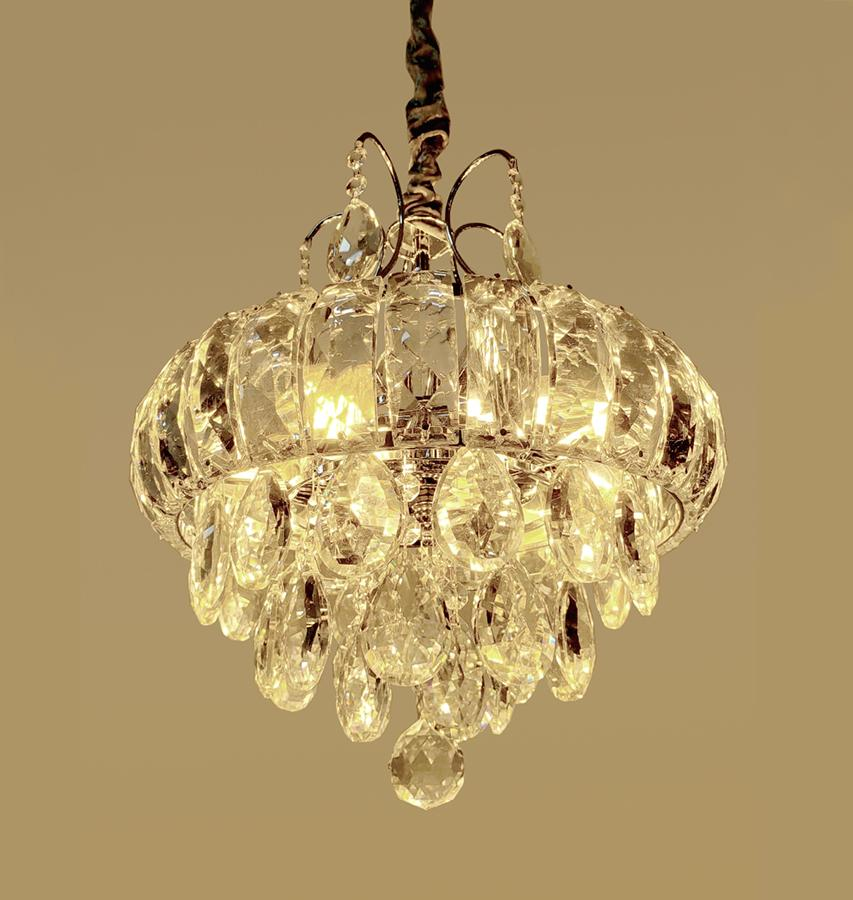 Lustre de Cristal Legítimo K9 Transparente 9279/350CH