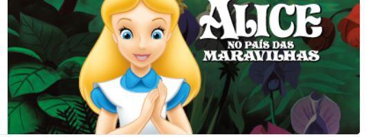 Mochila Escolar Infantil 16 Alice Secret Garden - Xeryus