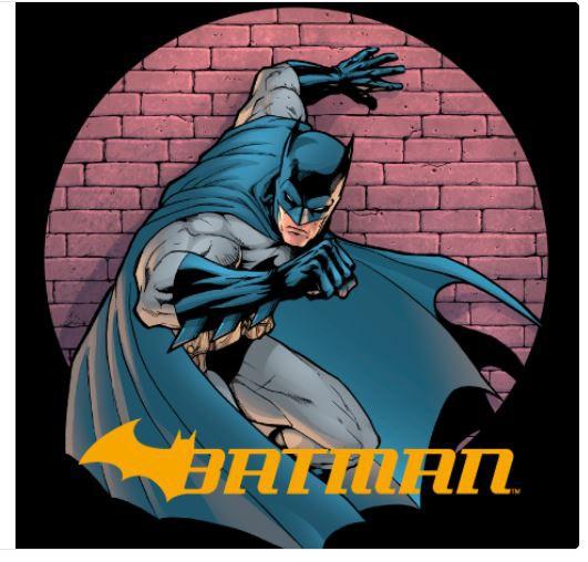 Mochila Infantil 14 Batman Wickerd - Xeryus