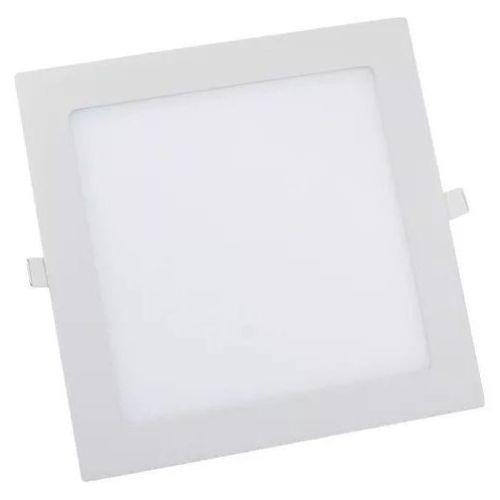Painel LED de Embutir Quadrado  12W - Luz Branca 6.500K