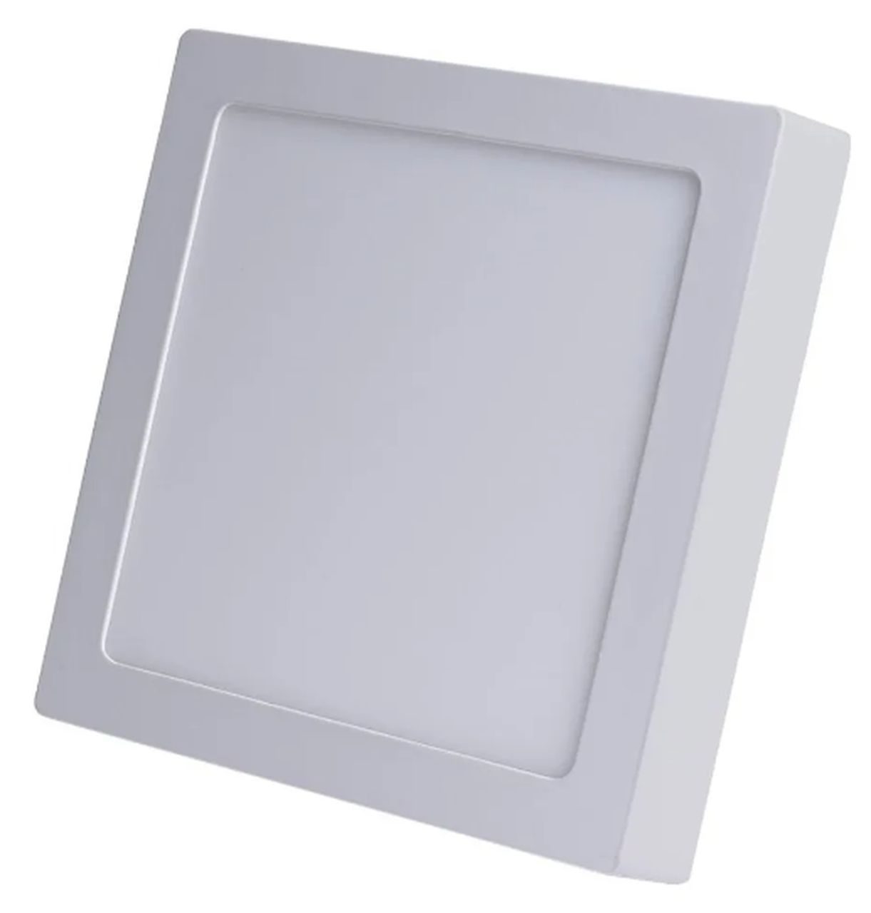 Painel LED de Sobrepor Quadrado 30 x 30 cm 24W - Luz Amarela 3000K
