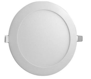 Painel Led embutir redondo 18w 3000k branco quente- MB LED