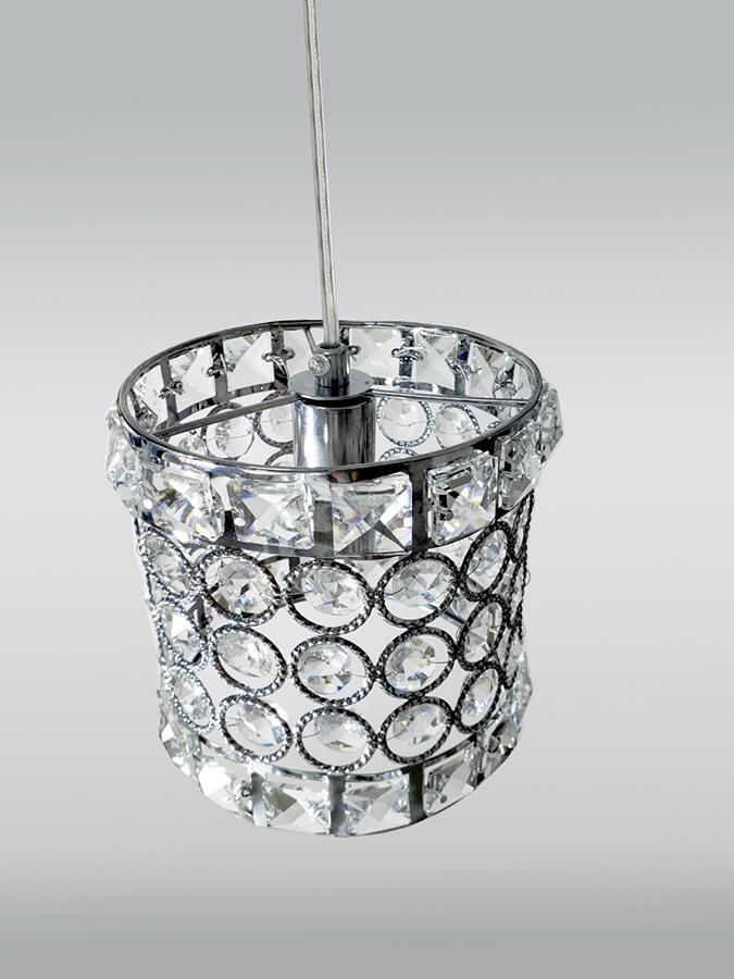 Pendente De Cristal Legítimo k9 Transparente A075-CH