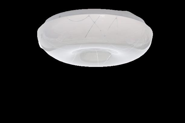 Plafon de Plástico Led 24 W Branco Branco Frio (B101)