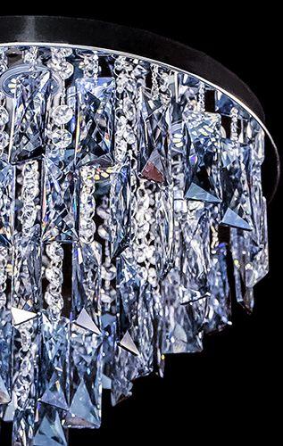 Lustre Plafon de Cristal Legítimo K9 Lâmpadas de LED inclusas A6904/400CH