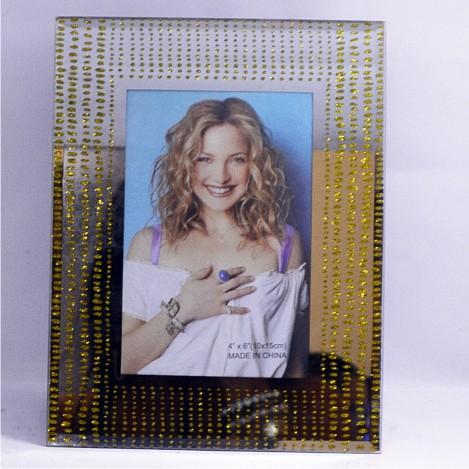 Porta Retrato de Vidro Espelhado 10 x 15cm- Dubai