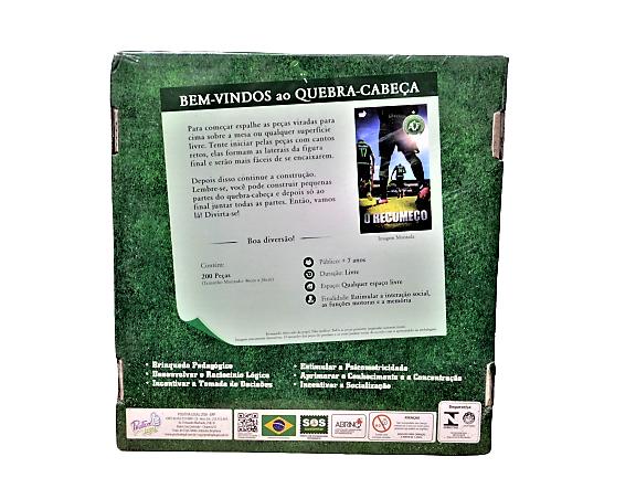 Quebra-Cabeça 200 Peças Chapecoense