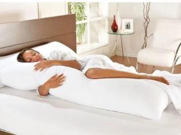 Travesseiro Body Pillow Microfibra 40x130cm - Altenburg SEM ESTOQUE