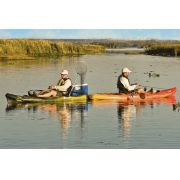 Caiaque para Pesca Brudden Náutica Hunter Fishing UP Azul Safira Profissional Upgrade