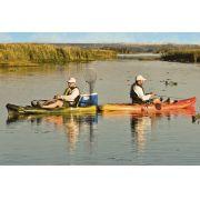 Caiaque para Pesca Brudden Náutica Hunter Fishing UP Verde Lima Profissional Upgrade