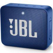 Caixa de Som Bluetooth JBL GO 2 Blue  Azul à Prova D'água