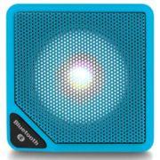 Caixa de Som Multilaser SmarTo GO SP308 Azul Cubo Speaker Bluetooth com Entrada para Cartão Micro SD